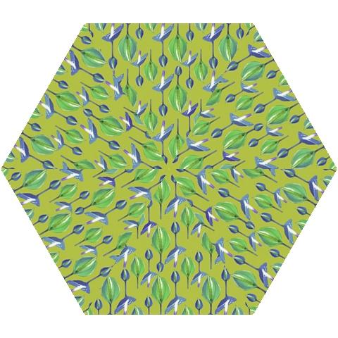 Tropical Floral Pattern Mini Folding Umbrellas