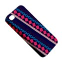 Purple And Pink Retro Geometric Pattern Apple iPhone 4/4S Hardshell Case View5