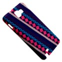 Purple And Pink Retro Geometric Pattern Samsung Galaxy Note 1 Hardshell Case View5