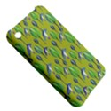 Tropical Floral Pattern Apple iPhone 3G/3GS Hardshell Case View5