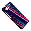 Purple And Pink Retro Geometric Pattern HTC Vivid / Raider 4G Hardshell Case  View5