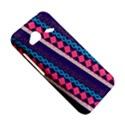 Purple And Pink Retro Geometric Pattern HTC Droid Incredible 4G LTE Hardshell Case View5