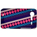 Purple And Pink Retro Geometric Pattern HTC Incredible S Hardshell Case  View1