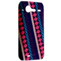Purple And Pink Retro Geometric Pattern HTC Incredible S Hardshell Case  View2