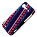 Purple And Pink Retro Geometric Pattern HTC Incredible S Hardshell Case  View4