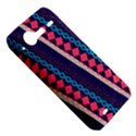 Purple And Pink Retro Geometric Pattern HTC Incredible S Hardshell Case  View5