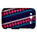 Purple And Pink Retro Geometric Pattern HTC Wildfire S A510e Hardshell Case View1