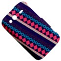 Purple And Pink Retro Geometric Pattern HTC Wildfire S A510e Hardshell Case View5
