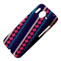Purple And Pink Retro Geometric Pattern HTC Desire HD Hardshell Case  View4