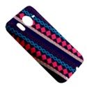 Purple And Pink Retro Geometric Pattern HTC Desire HD Hardshell Case  View5