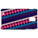 Purple And Pink Retro Geometric Pattern Samsung Infuse 4G Hardshell Case  View1