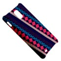 Purple And Pink Retro Geometric Pattern Samsung Infuse 4G Hardshell Case  View5