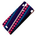 Purple And Pink Retro Geometric Pattern Sony Xperia Arc View4