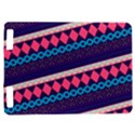 Purple And Pink Retro Geometric Pattern Kindle Touch 3G View1
