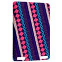 Purple And Pink Retro Geometric Pattern Kindle Touch 3G View2