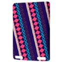 Purple And Pink Retro Geometric Pattern Kindle Touch 3G View3