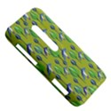 Tropical Floral Pattern HTC Evo 3D Hardshell Case  View5