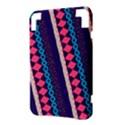 Purple And Pink Retro Geometric Pattern Kindle 3 Keyboard 3G View3