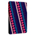 Purple And Pink Retro Geometric Pattern Kindle Fire (1st Gen) Hardshell Case View2