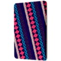 Purple And Pink Retro Geometric Pattern Kindle Fire (1st Gen) Hardshell Case View3