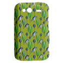 Tropical Floral Pattern HTC Wildfire S A510e Hardshell Case View2
