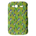 Tropical Floral Pattern HTC Wildfire S A510e Hardshell Case View3