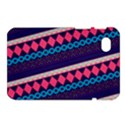 Purple And Pink Retro Geometric Pattern Samsung Galaxy Tab 7  P1000 Hardshell Case  View1