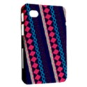 Purple And Pink Retro Geometric Pattern Samsung Galaxy Tab 7  P1000 Hardshell Case  View2