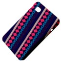 Purple And Pink Retro Geometric Pattern Samsung Galaxy Tab 7  P1000 Hardshell Case  View4
