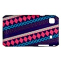 Purple And Pink Retro Geometric Pattern Samsung Galaxy S i9008 Hardshell Case View1
