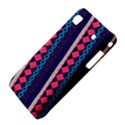 Purple And Pink Retro Geometric Pattern Samsung Galaxy S i9008 Hardshell Case View4