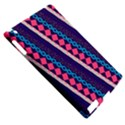 Purple And Pink Retro Geometric Pattern Apple iPad 2 Hardshell Case (Compatible with Smart Cover) View5