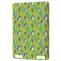 Tropical Floral Pattern Kindle Touch 3G View3