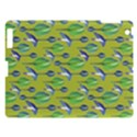 Tropical Floral Pattern Apple iPad 3/4 Hardshell Case View1