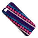 Purple And Pink Retro Geometric Pattern Apple iPhone 5 Hardshell Case View5