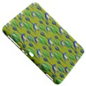 Tropical Floral Pattern Samsung Galaxy Tab 8.9  P7300 Hardshell Case  View5