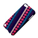 Purple And Pink Retro Geometric Pattern Apple iPod Touch 5 Hardshell Case View4