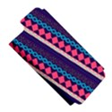 Purple And Pink Retro Geometric Pattern Apple iPhone 5 Hardshell Case (PC+Silicone) View5
