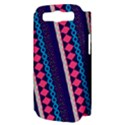 Purple And Pink Retro Geometric Pattern Samsung Galaxy S III Hardshell Case (PC+Silicone) View3