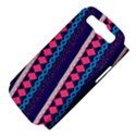Purple And Pink Retro Geometric Pattern Samsung Galaxy S III Hardshell Case (PC+Silicone) View4
