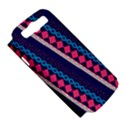 Purple And Pink Retro Geometric Pattern Samsung Galaxy S III Hardshell Case (PC+Silicone) View5