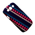 Purple And Pink Retro Geometric Pattern Samsung Galaxy S III Classic Hardshell Case (PC+Silicone) View5