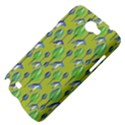 Tropical Floral Pattern Samsung Galaxy Note 2 Hardshell Case View4