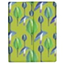 Tropical Floral Pattern Apple iPad 2 Flip Case View1
