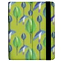 Tropical Floral Pattern Apple iPad 2 Flip Case View2