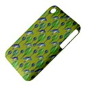 Tropical Floral Pattern Apple iPhone 3G/3GS Hardshell Case (PC+Silicone) View4