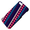 Purple And Pink Retro Geometric Pattern Apple iPhone 5 Hardshell Case with Stand View4