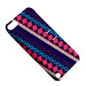 Purple And Pink Retro Geometric Pattern Apple iPod Touch 5 Hardshell Case with Stand View5