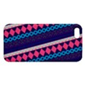 Purple And Pink Retro Geometric Pattern Apple iPhone 5 Premium Hardshell Case View1