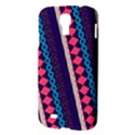 Purple And Pink Retro Geometric Pattern Samsung Galaxy S4 I9500/I9505 Hardshell Case View3